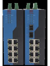 8-портовые промышленные управляемые PoE Ethernet Коммутаторы
