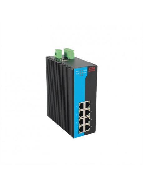 10 портовый неуправляемый Gigabit Ethernet Коммутатор (Ethernet + SFP)