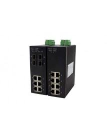 10-портовый управляемый Gigabit Ethernet Коммутатор с SFP слотами