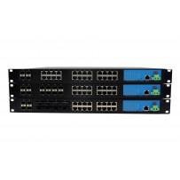 24*TX/FX управляемый модульный Ethernet Коммутатор с SFP слотами