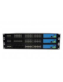 24*GTX/FX управляемый модульный Gigabit Ethernet Коммутатор с SFP слотами