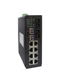 8-портовый управляемый Ethernet Коммутатор с SFP слотами