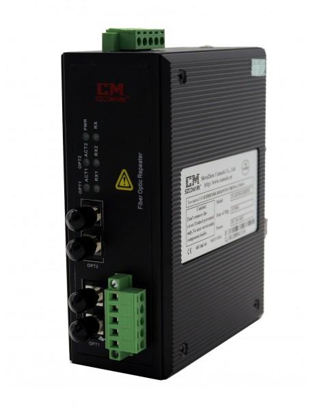 CAN/DeviceNet/CANOpen - FO конвертер (повторитель) в алюминиевом корпусе