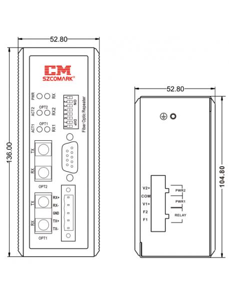 Memobus - FO конвертер (повторитель)