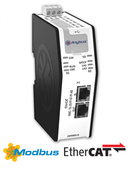 AB9000 Modbus-TCP Master/Client - EtherCAT