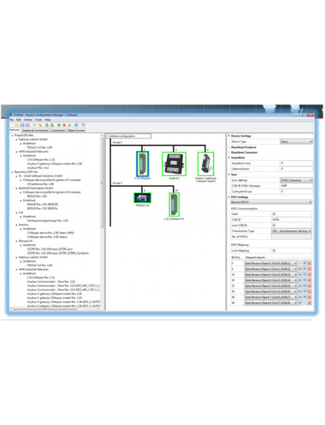 Anybus Configuration Manager CANopen