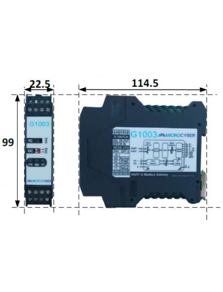 G1003 Преобразователь HART в Modbus