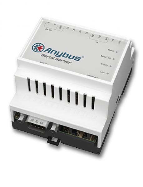 "Anybus Serial Server ""RS232/RS485 - Ethernet"""