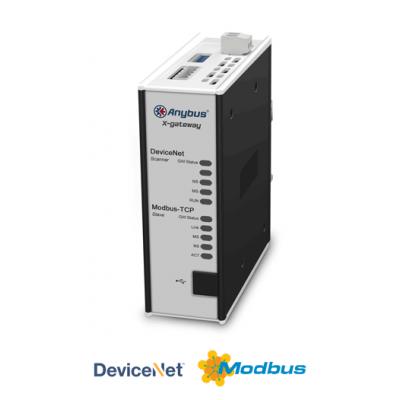 DeviceNet Master - Ethernet Modbus TCP