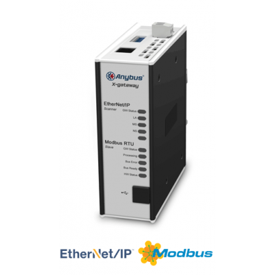 Ethernet/IP Scanner - Modbus RTU Slave