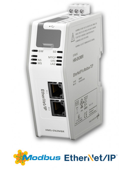 Anybus Ethernet/IP to Modbus-TCP Linking Device