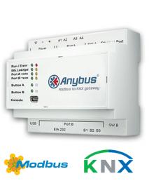Шлюз Anybus Modbus to KNX