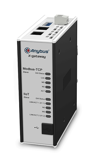 Шлюз Anybus X-gateway IIoT – Ethernet/IP Adapter - OPC UA-MQTT
