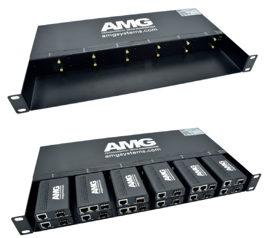 AMG210M SERIES RACK mounting