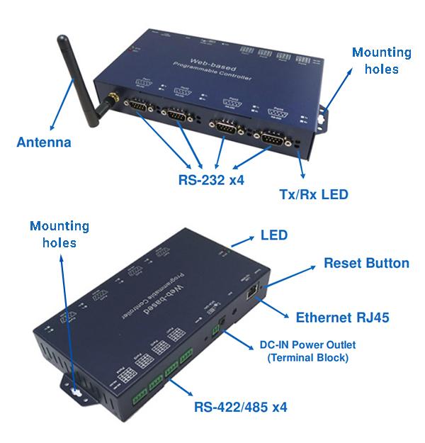 Основные элементы преобразователей WPC-832-4-E-I