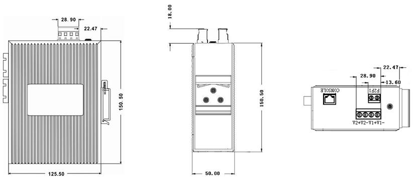 SZComark Switches CK2080P/CK3080P series mounting
