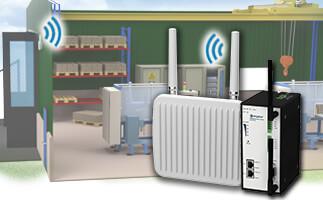 Формирование инфраструктуры беспроводной локальной сети на устройствах Anybus Wireless