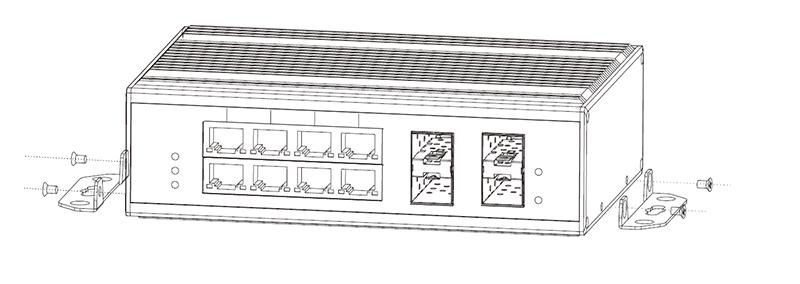 NIE8084PGM mounting