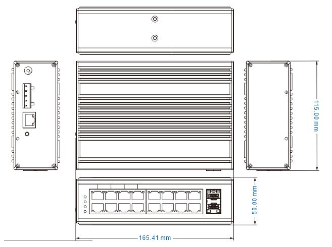 NIE8162PGM dimensions