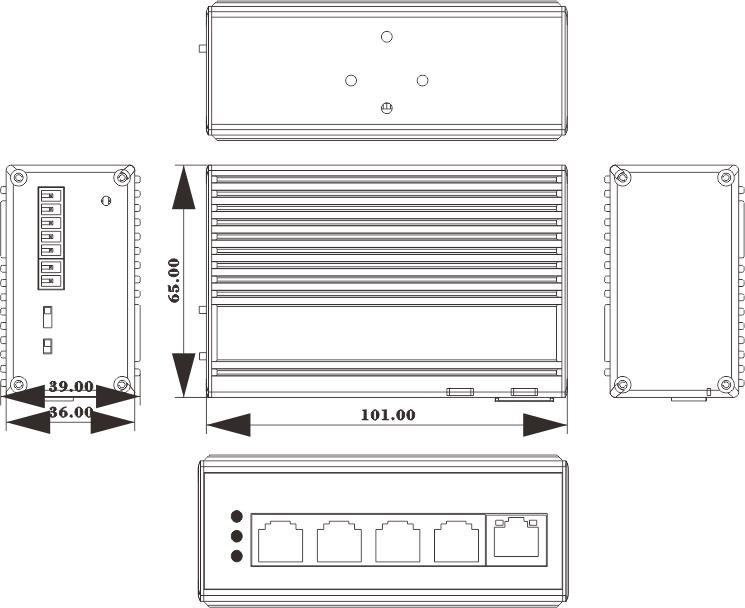 NIE6041PG dimensions
