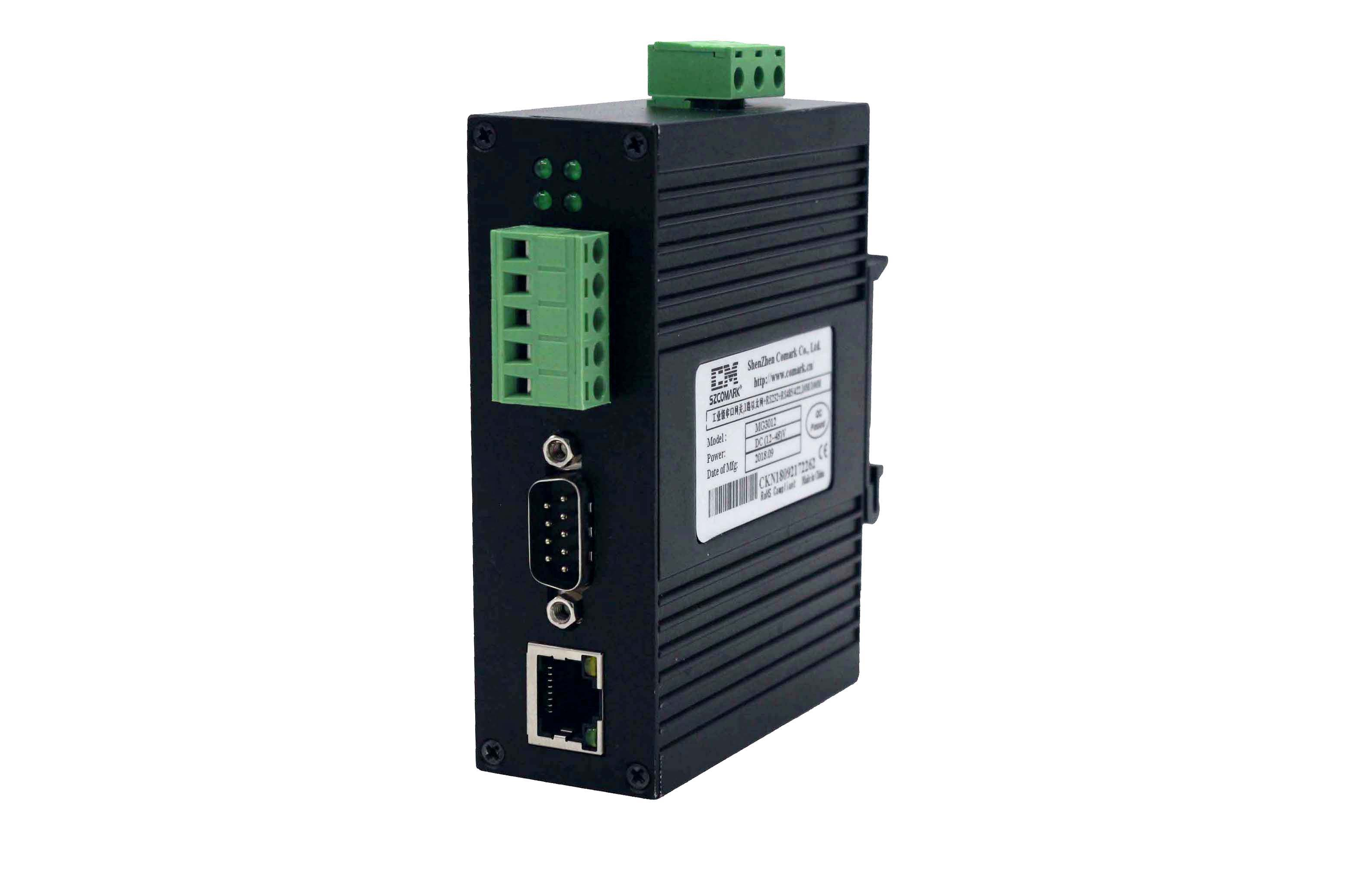 "SZComark MG3012 Serial Gateway ""RS232/422/485/Modbus-RTU - Ethernet/Modbus-TCP"""
