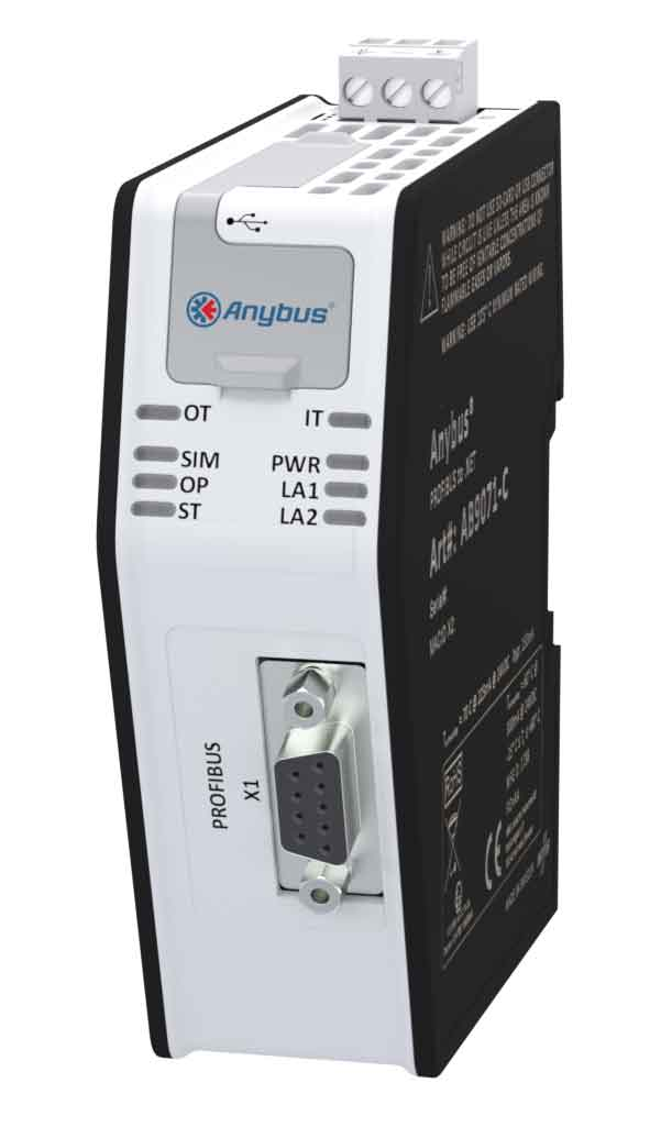 Шлюз Anybus PROFIBUS to .NET